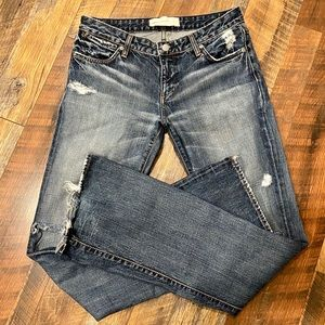 PAPER DENIM & CLOTH Madison Boot Cut Distressed